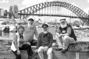 Roaring Forties - Sydney icons (monochrome)