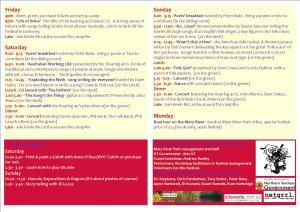 Top Half Programme